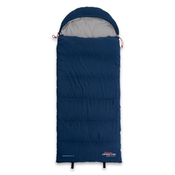 Darche KOZI Series Junior Sleeping Bag +5°C - Soft touch, low noise outer shell and lining in a junior size