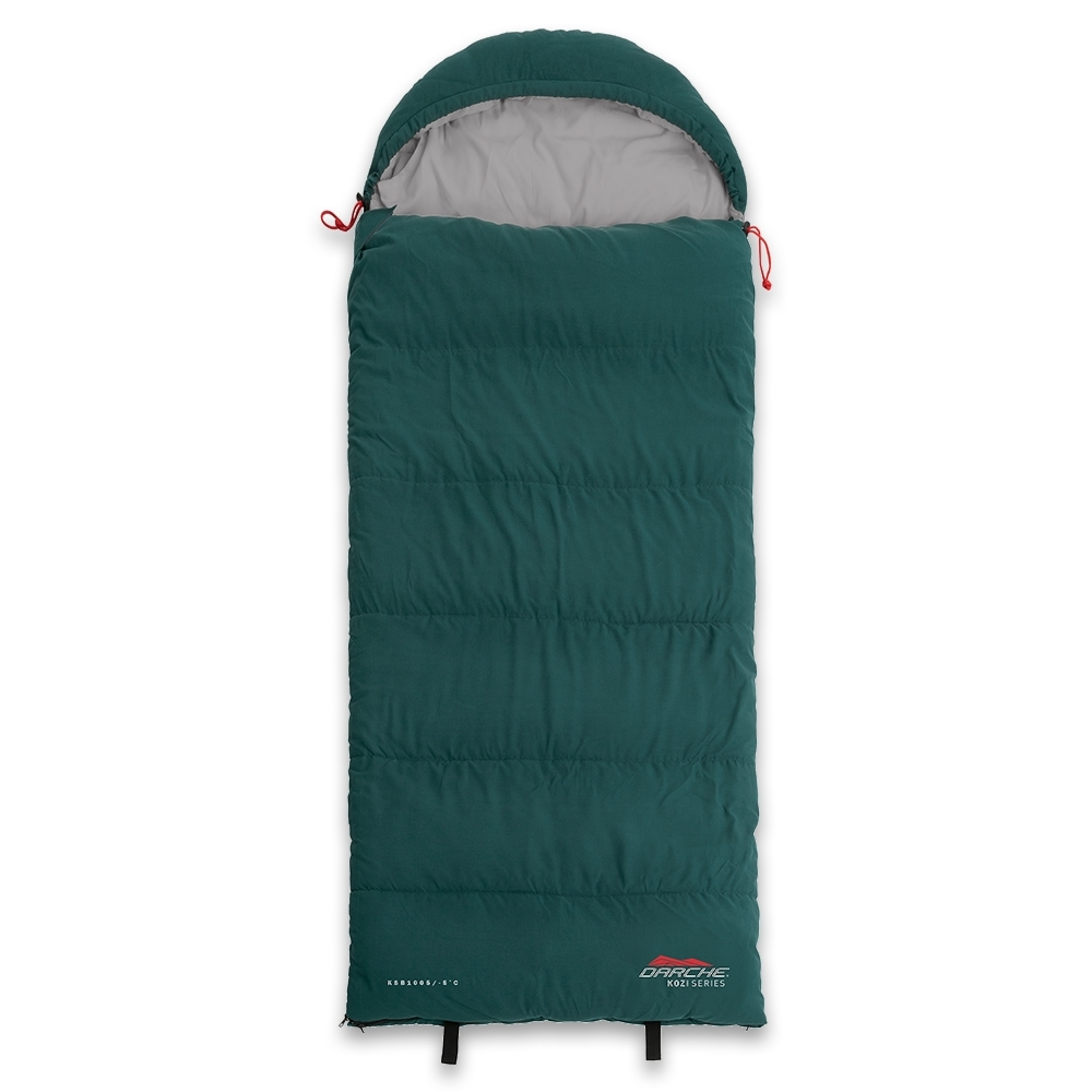 Darche KOZI Series Junior Sleeping Bag -5°C - Soft touch, low noise outer shell and lining in a junior size