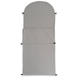 Darche KOZI Series Adult Sleeping Bag Liner - Made from 100% cotton and featuring an antimicrobial treatment