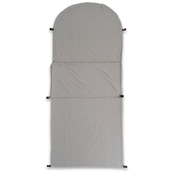 Darche KOZI Series Junior Sleeping Bag Liner - Made from 100% cotton and featuring an antimicrobial treatment