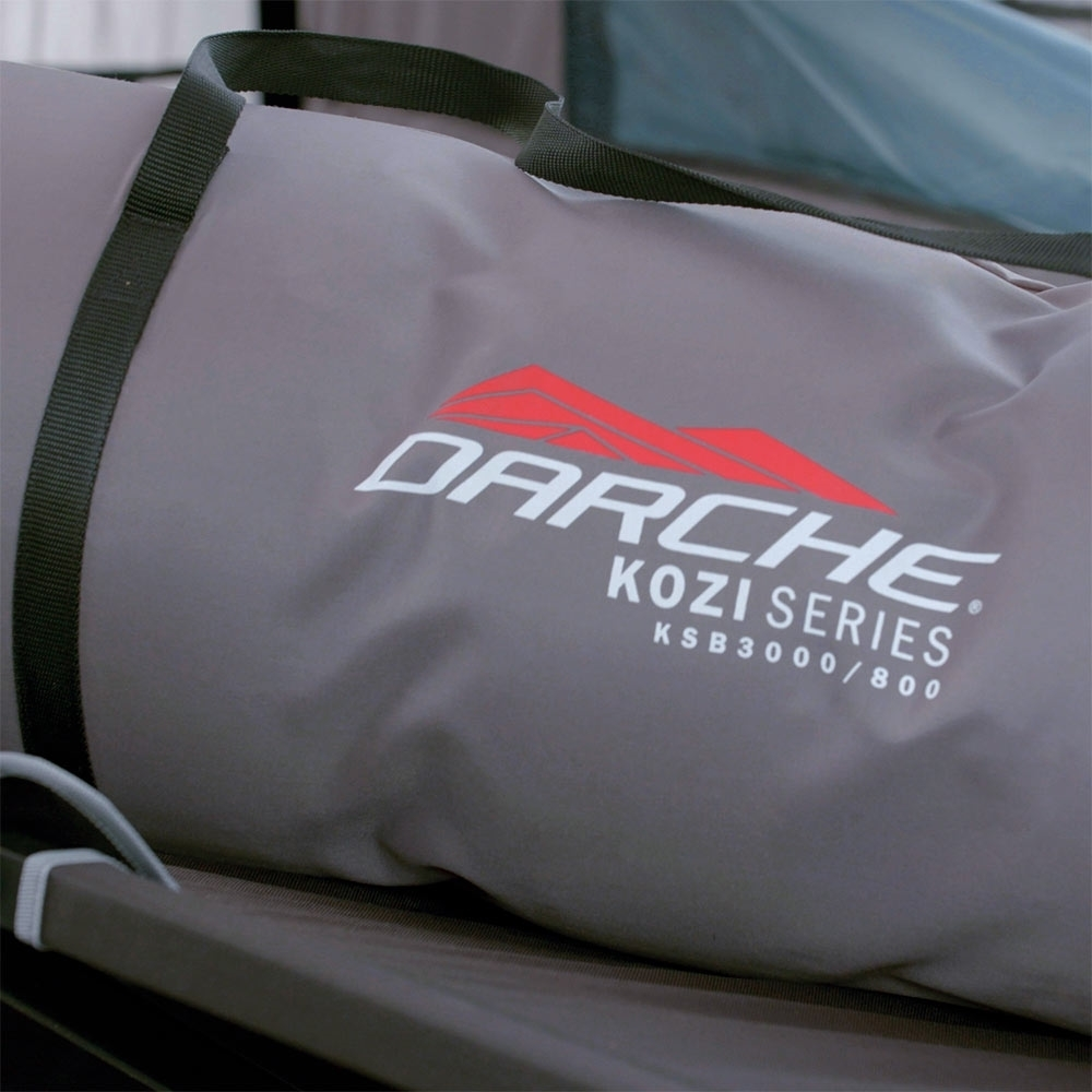 Darche KOZI Series King Single Self-Inflating Mattress - Drawstring storage bag with carry handles for transport