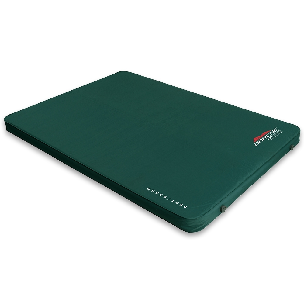 Darche KOZI Series Queen Self-Inflating Mattress - Soft touch sleeping surface for warmth and comfort