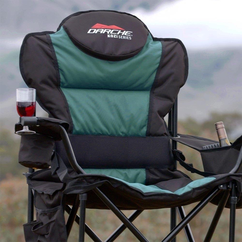Darche KOZI Series Quick Fold Chair - Wine glass holder