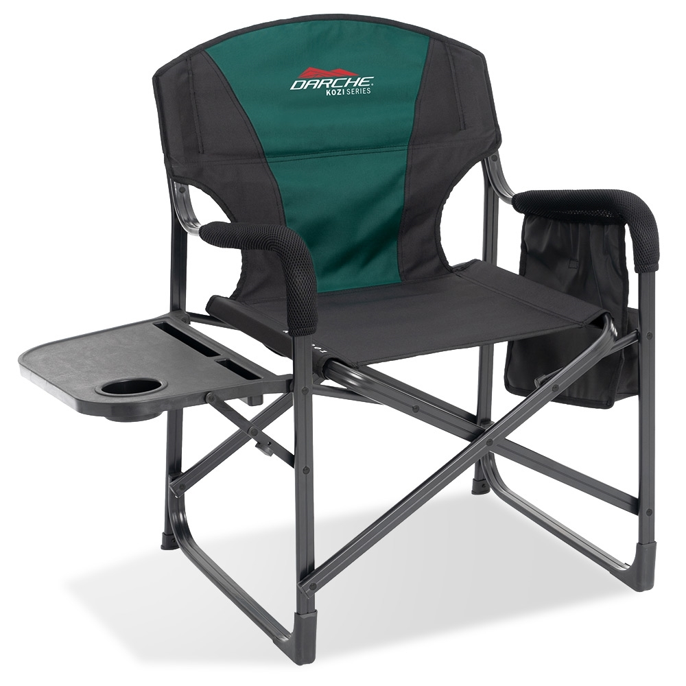Darche KOZI Series Aluminium Directors Chair - Padded seat and backrest for support and comfort