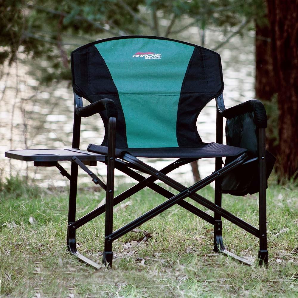 Darche KOZI Series Aluminium Directors Chair - Light-weight aluminium frame
