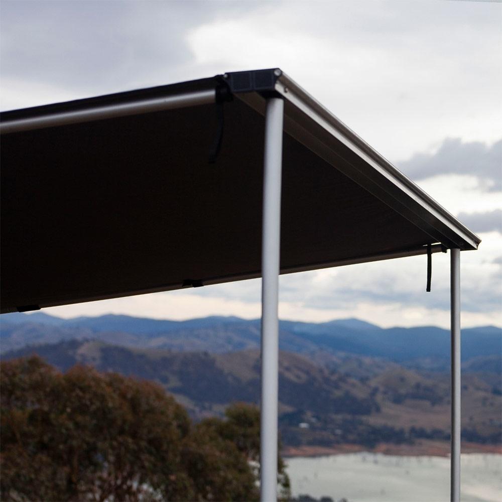 Darche KOZI Series 2 x 2.5M Side Awning - Heavy-duty aluminium rafter poles and extendable twist lock leg poles