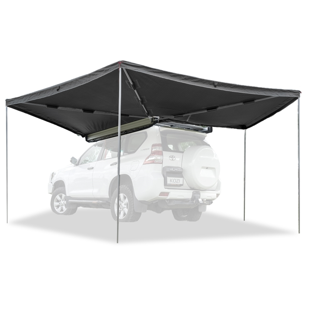 Darche KOZI Series 270° Awning - Providing a huge 11.8m² of coverage in all weather conditions