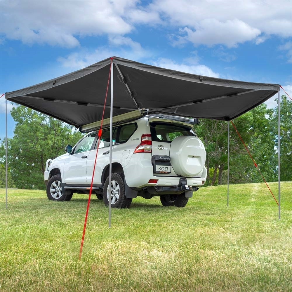 Darche KOZI Series 270° Awning - Easy set-up with 270° of wrap around shade solution