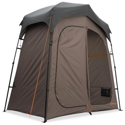 Darche Twin Cube Shower Tent - All in one multi-purpose tent perfect for showering, changing or toilet cubicle setup