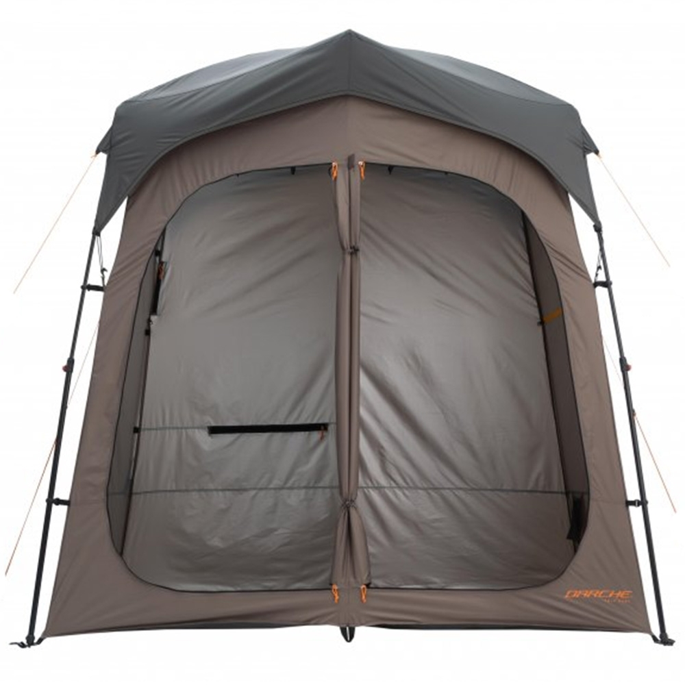 Darche Twin Cube Shower Tent - Two convenient direct access doors to each cubicle plus internal door