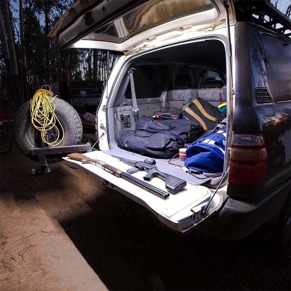 Hard Korr 2m Stick-On 3 Colour Flexible LED Tape Light Kit - Back of 4WD