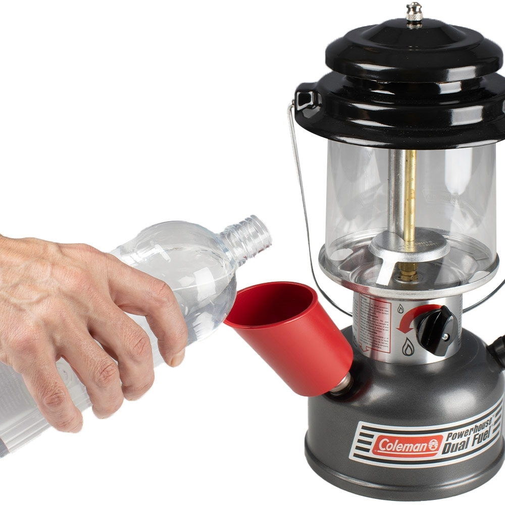 Coleman Powerhouse Dual Fuel Lantern - Filtering funnel included
