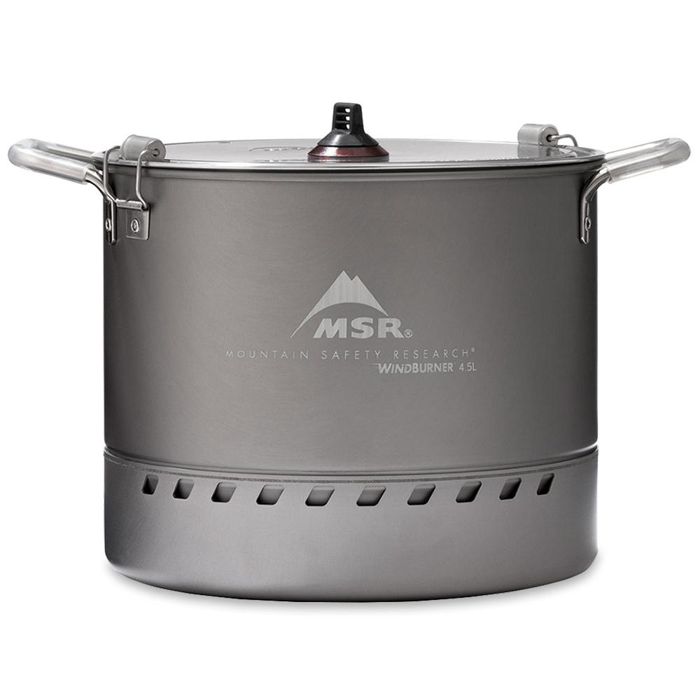 MSR WindBurner Stock Pot 4.5L - Perfect for large volume cooking