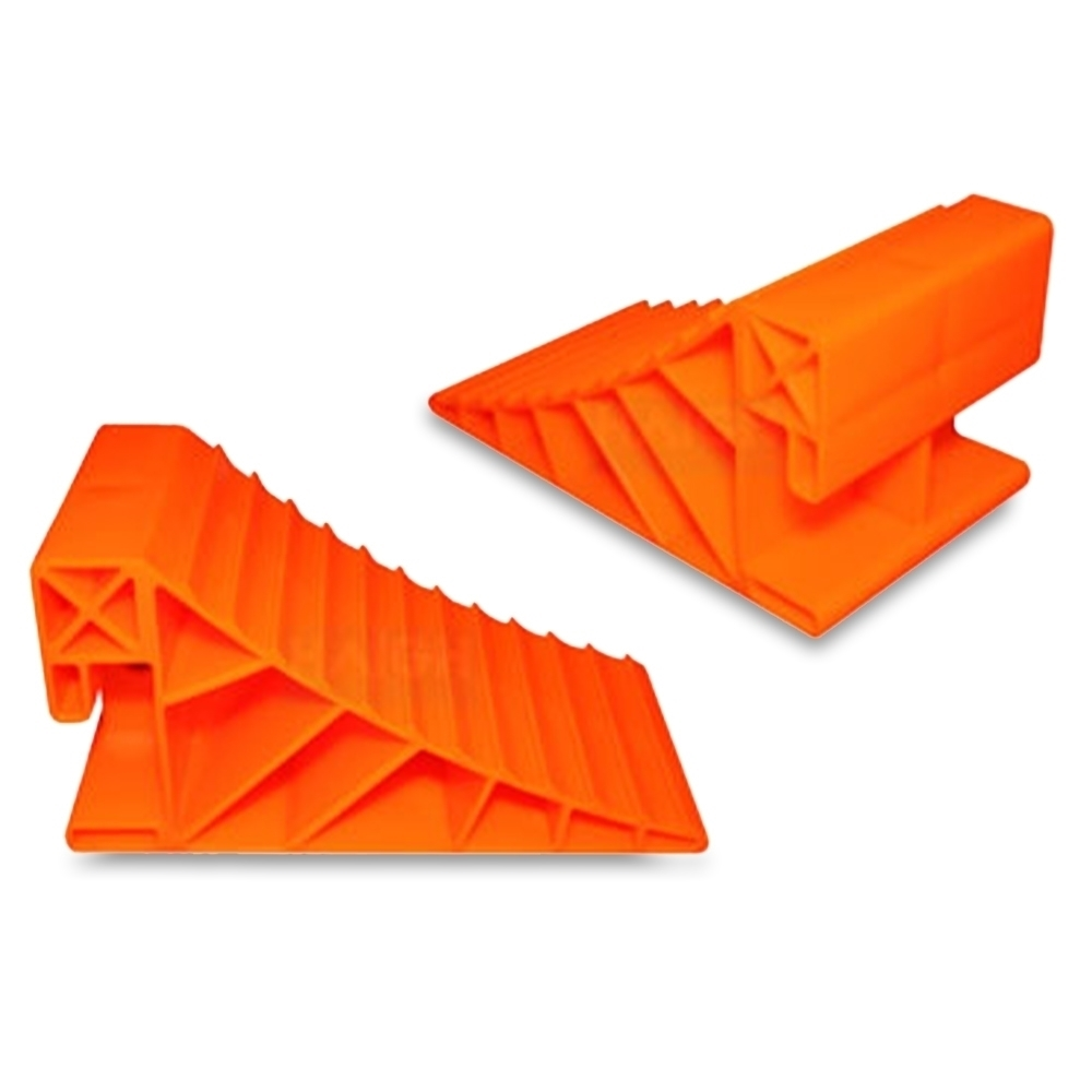 Explore Wheel Chocks - Suitable for keeping your car, trailer, caravan, RV, light truck, van or similar from moving when parked