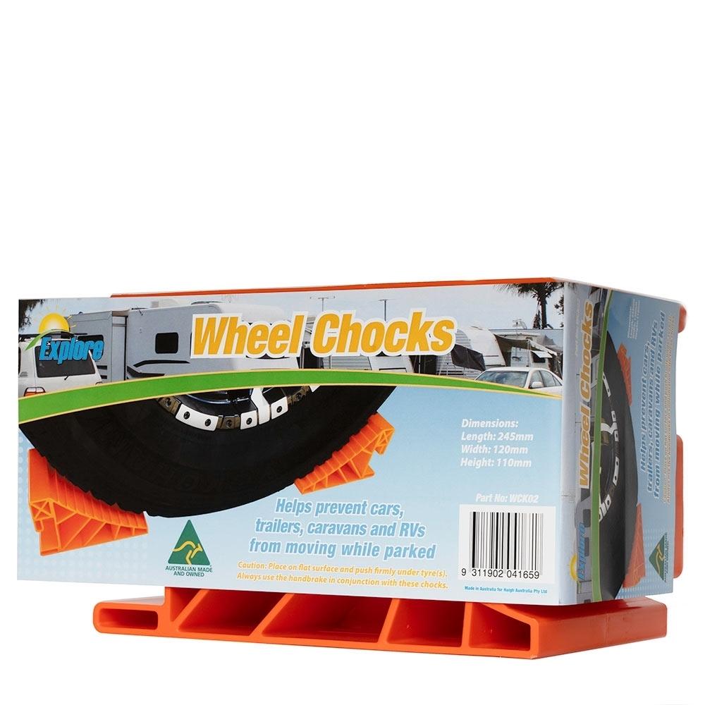 Explore Wheel Chocks - Packaging