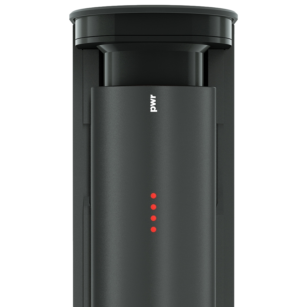 Knog PWR Sound + Small PWR Bank - 4 stage battery indicator