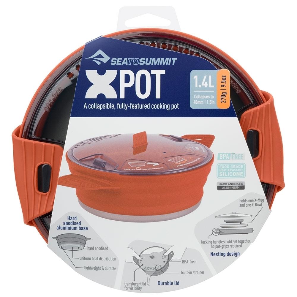 Sea to Summit X-Pot 1.4L - Packaging