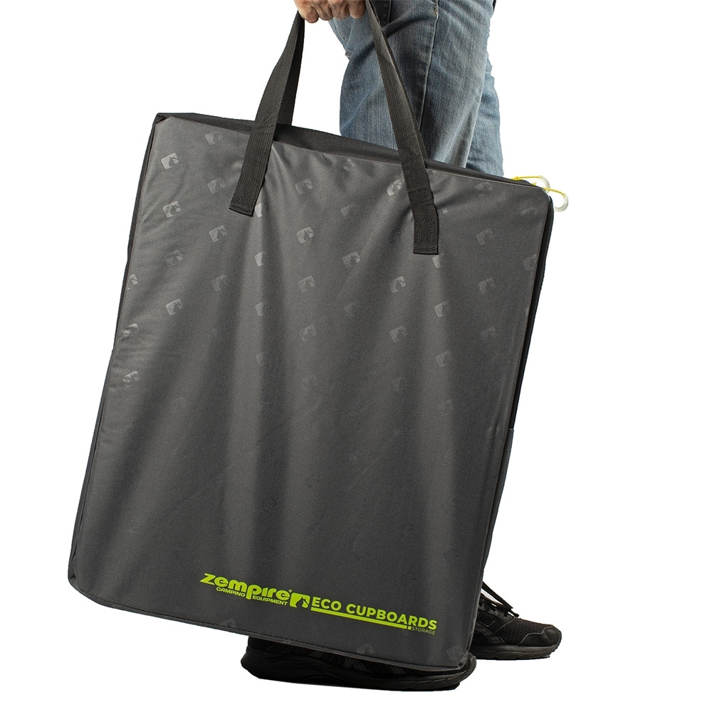 Zempire Eco Camp Cupboards - Sturdy poly oxford zip closed carry bag