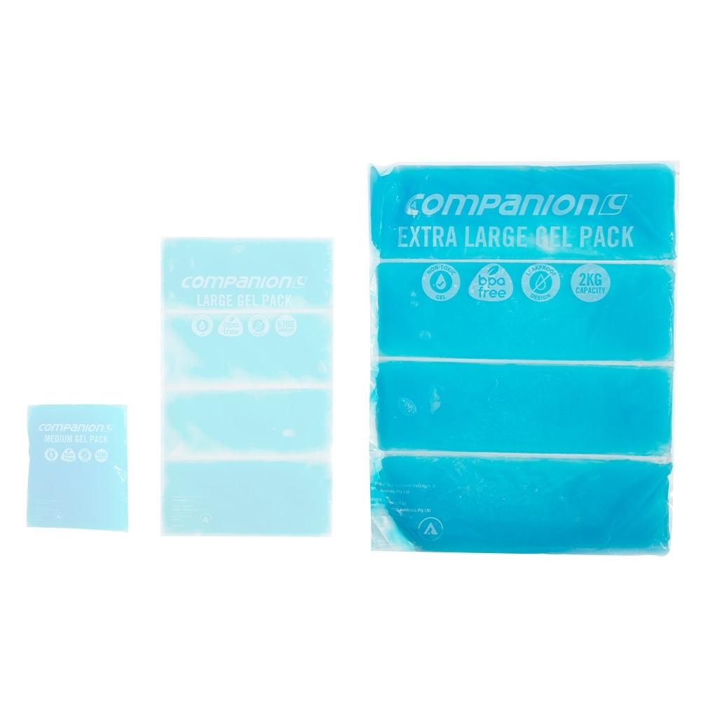 Companion Gel Pack Extra Large 2Kg - Compared to other sizes
