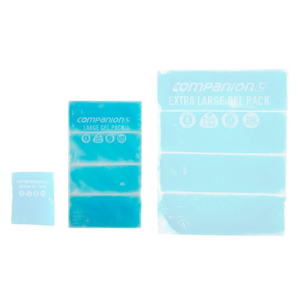 Companion Gel Pack Large 750g - Compared to other sizes