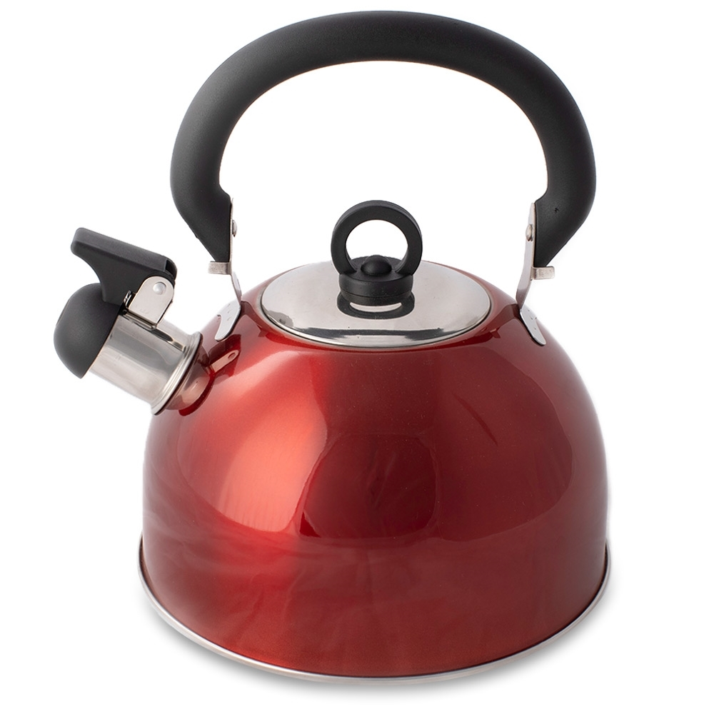 Campfire Whistling Kettle 2.5L - Red