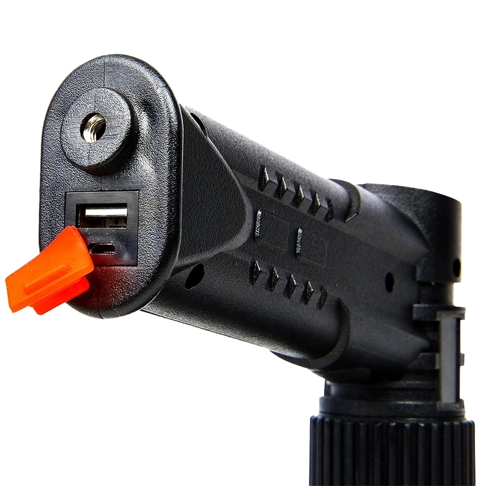 Hard Korr 20W Rechargeable Hand-Held Hunting Spotlight - USB Rechargeable 4.4Ah lithium battery