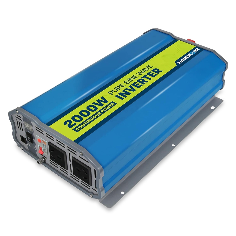 Hard Korr 2000W Pure Sine Wave Inverter with RCD Protection -