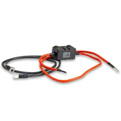 Hard Korr 10AWG Inverter Cable with 40A Fuse - Designed to provide a connection between the Hardkorr 300w Pure Sine Wave Inverter and your battery