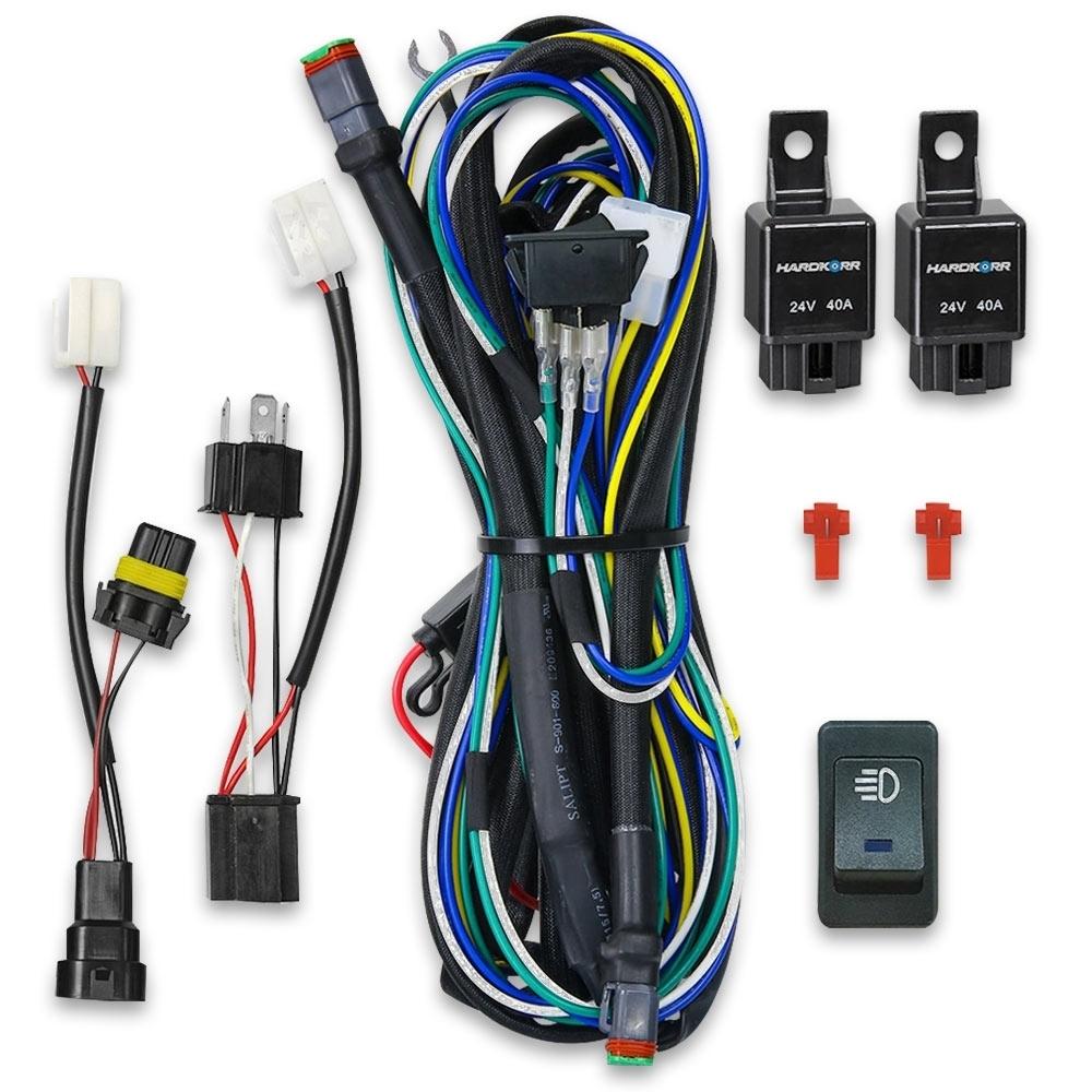 Hard Korr Dual Output Plug & Play Wiring Harness