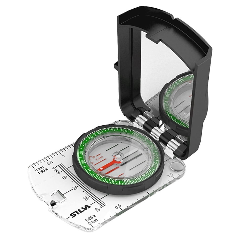 Silva Ranger S Sighting Compass - Use-anywhere declination scale