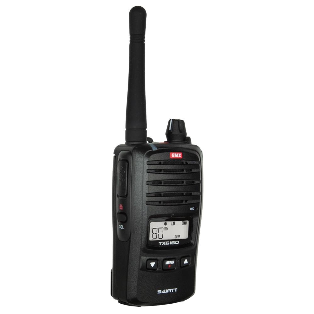 GME 5 Watt UHF CB Handheld Radio TX6160X -High contrast backlit LCD screen