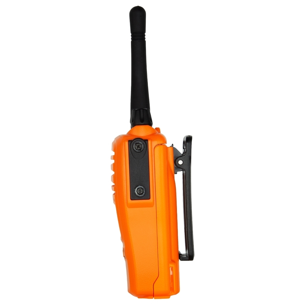GME 5 Watt UHF CB Handheld Radio Blaze Orange TX6160XO - Belt clip