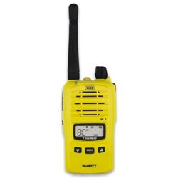 GME 5 Watt UHF CB Handheld Radio Yellow TX6160XY - Featuring 5 watt transmission power in high visibility yellow