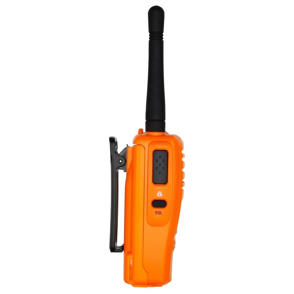 GME 5 Watt UHF CB Handheld Radio Twin Pack Blaze Orange TX6160OTP - Rugged design with IP67 ingress protection