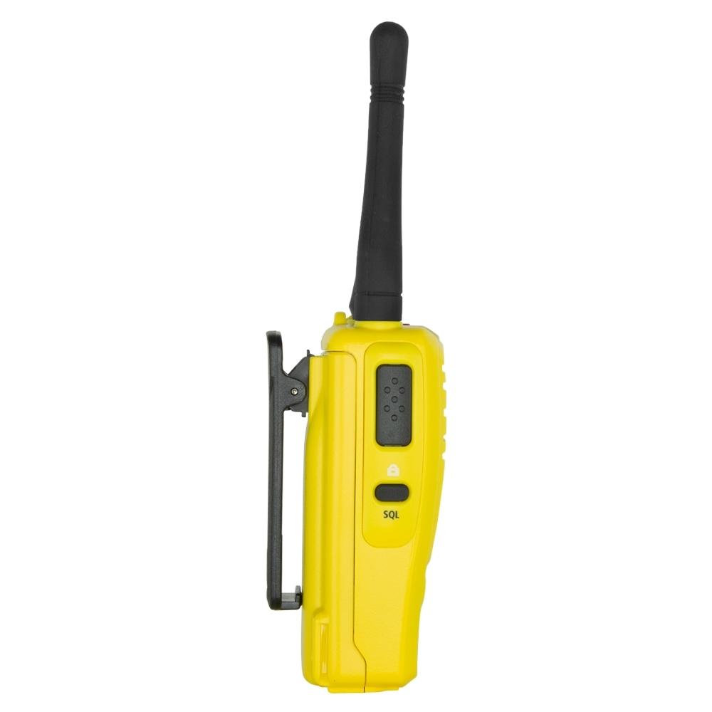 GME 5 Watt UHF CB Handheld Radio Twin Pack Yellow TX6160YTP - Rugged design with IP67 ingress protection