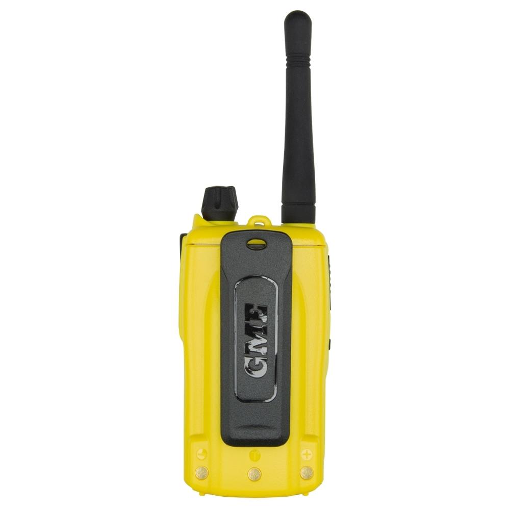 GME 5 Watt UHF CB Handheld Radio Twin Pack Yellow TX6160YTP - 2600mAh Li-Ion battery pack