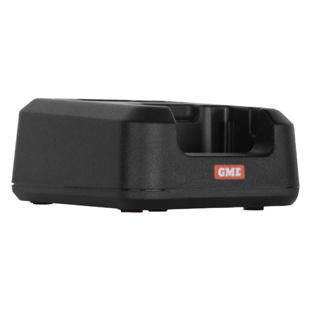 GME 5 Watt UHF CB Handheld Radio Twin Pack Yellow TX6160YTP - Dual desktop charging cradle