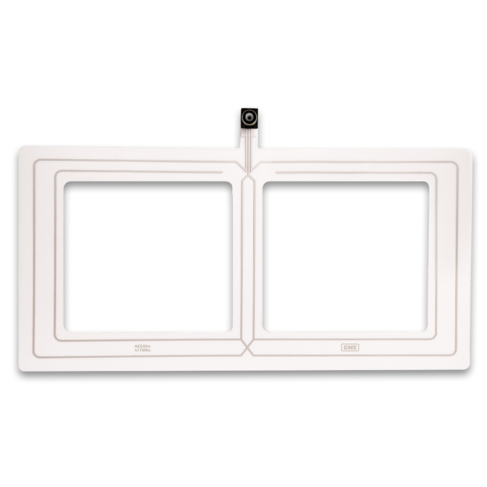 GME Transparent On-Glass UHF CB Antenna 4.5dBi Gain AE5004 - Designed to be discreet and unobtrusive whilst delivering outstanding performance
