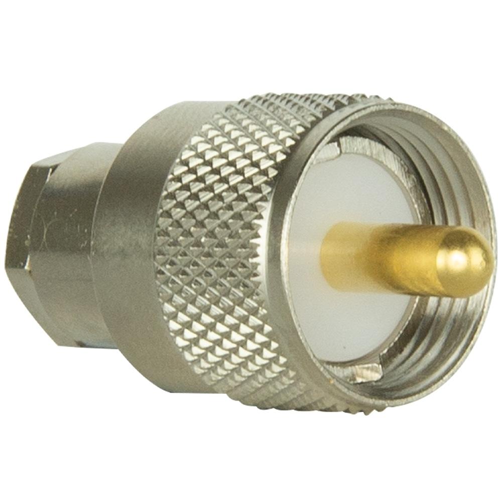 GME 820mm Flexible Slimline Antenna UHF CB 6dBi Gain AE4016 - FME to PL259 Adaptor (AD503)