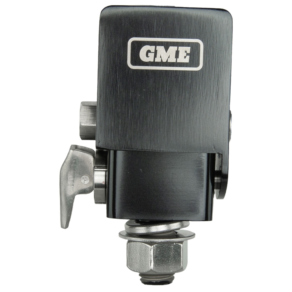 GME Fold-Down Antenna Mounting Bracket - Rugged stainless steel construction