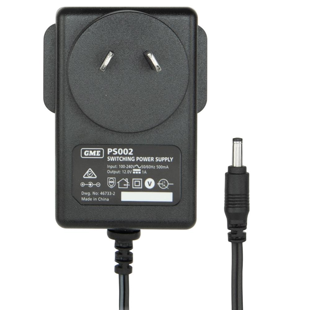GME 5 Watt UHF CB Handheld Radio Twin Pack Yellow TX6160YTP - AC Adaptor (PS002)