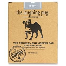 The Laughing Pug Drip Coffee Bag 10Pk Doggfather Blend