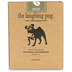 The Laughing Pug Drip Coffee Bag 10Pk Decaf