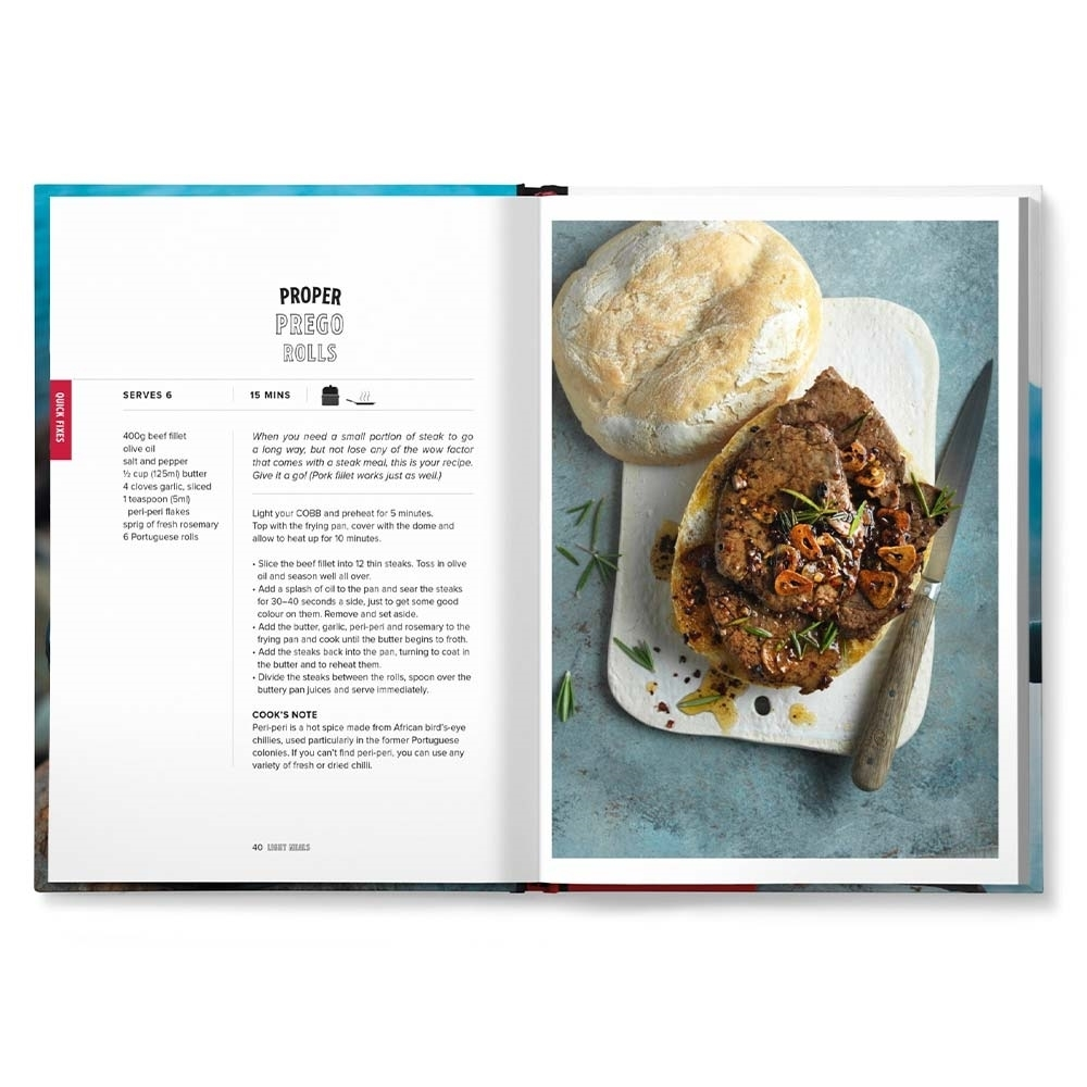 Cobb Anywhere But The Kitchen Recipe Book - Features 50 recipes