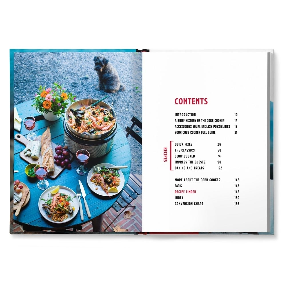 Cobb Anywhere But The Kitchen Recipe Book - Includes 15 vegetarian dishes