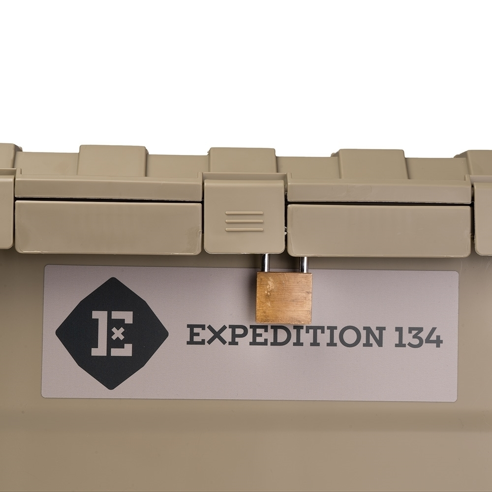 Expedition134 Heavy Duty Plastic Storage Box 55L - Attach a padlock in the dedicated space under the outer rim on each latch for security
