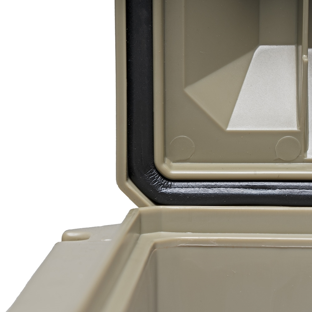 Expedition134 Heavy Duty Plastic Storage Box 55L - Weather-proof seal and dedicated ridge design protects your gear from dust, weather, insects, and rodents