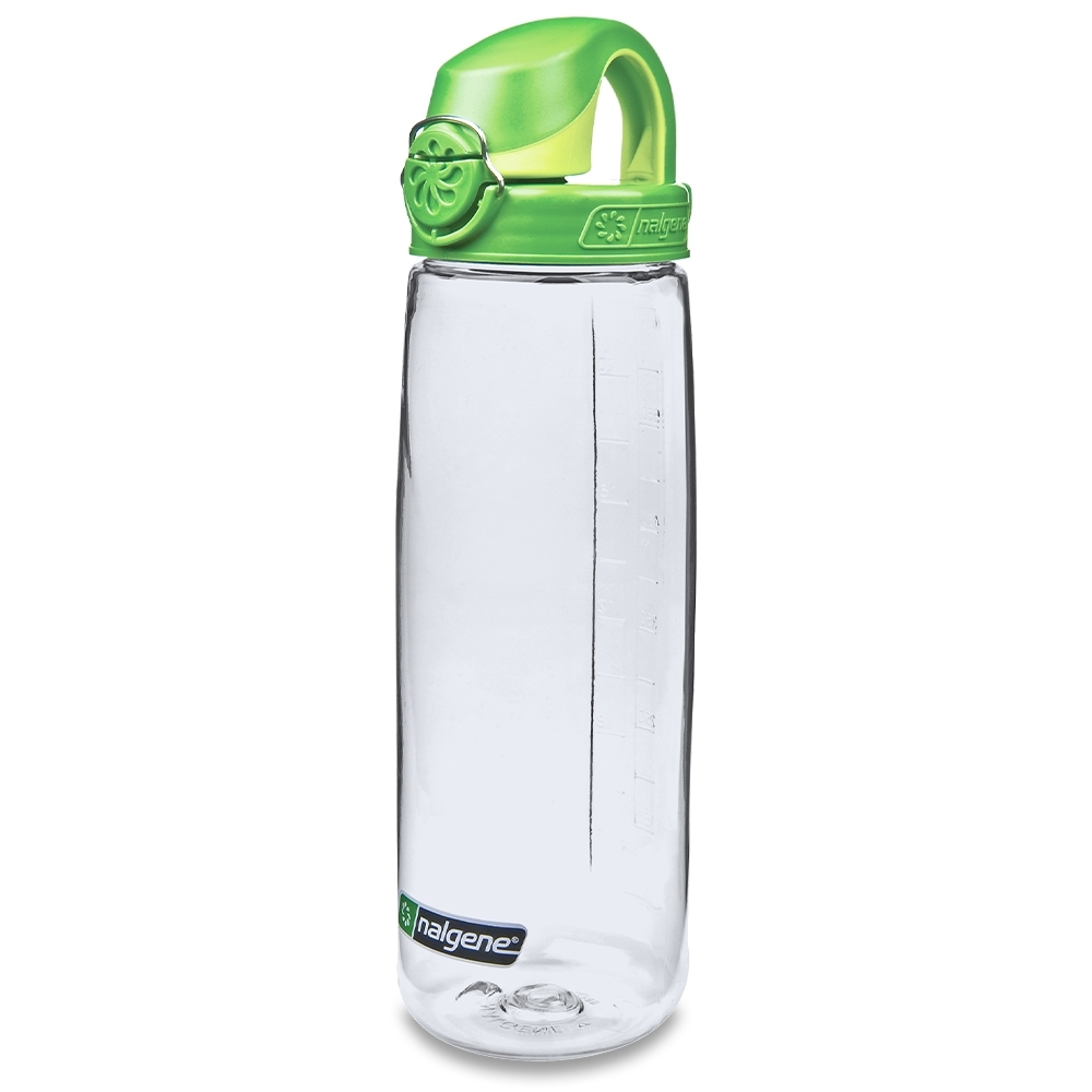 Nalgene On-The-Fly Lock-Top Bottle 650ml Clear with Sprout Cap