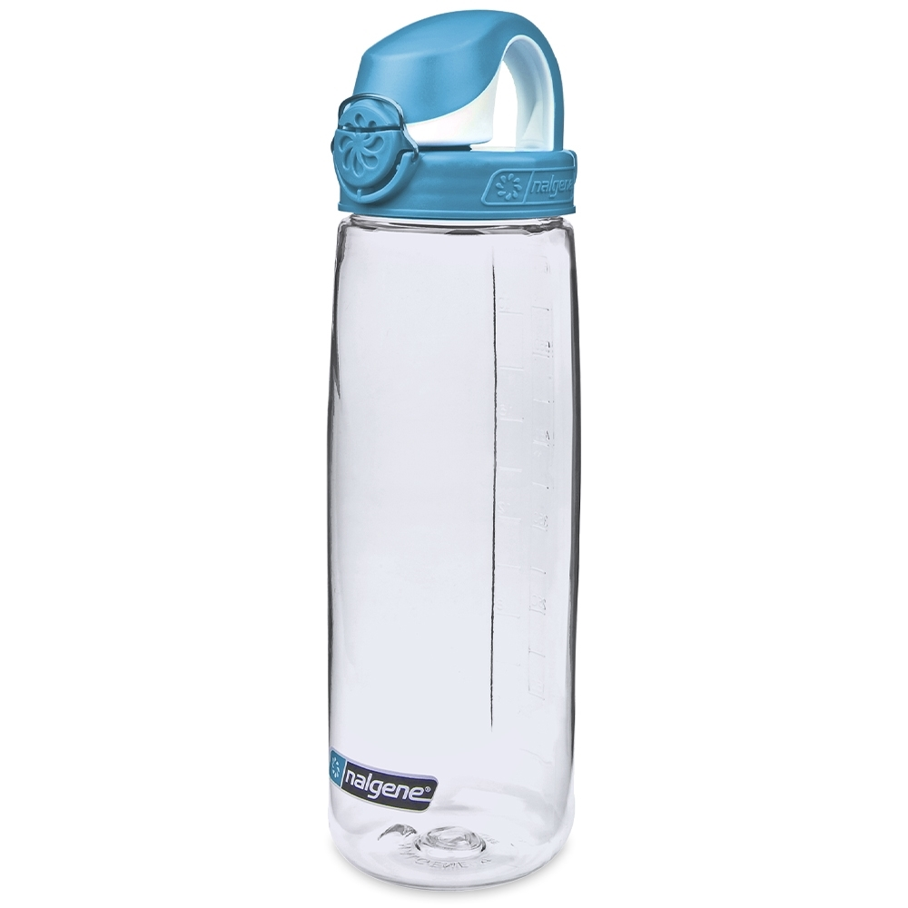 Nalgene On-The-Fly Lock-Top Bottle 650ml Clear with Seaport Cap