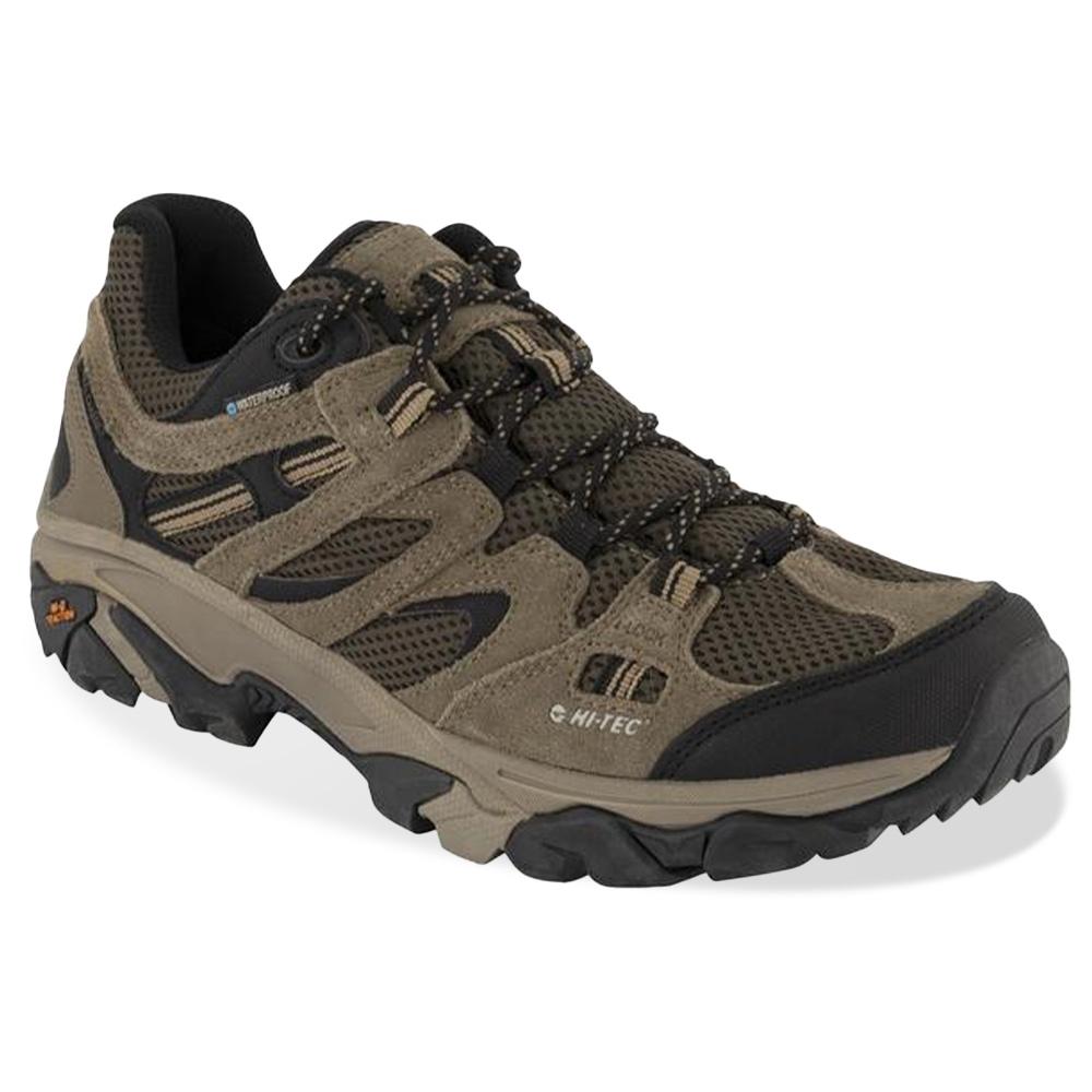 Hi-Tec Ravus Vent Low WP Men's Shoe Taupe Olive Black Light Taupe